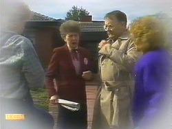 Henry Ramsay, Nell Mangel, Harold Bishop, Madge Bishop in Neighbours Episode 0839