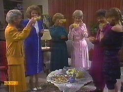 Helen Daniels, Madge Bishop, Nell Mangel, Jane Harris in Neighbours Episode 0839