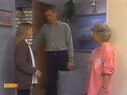 Bronwyn Davies, Jim Robinson, Helen Daniels in Neighbours Episode 0840