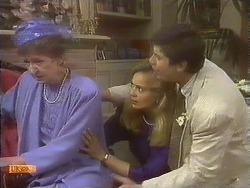 Nell Mangel, Jane Harris, Joe Mangel in Neighbours Episode 0841