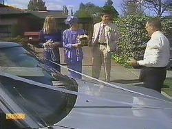Jane Harris, Nell Mangel, Joe Mangel, Harold Bishop in Neighbours Episode 0841