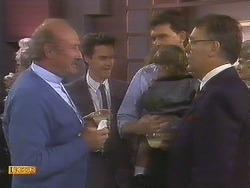 Reverend Sampson, Paul Robinson, Des Clarke, Jamie Clarke, Harold Bishop in Neighbours Episode 0841