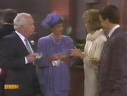 John Worthington, Nell Mangel, Madge Bishop, Paul Robinson in Neighbours Episode 0841