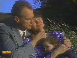 Jim Robinson, Beverly Marshall, Jamie Clarke in Neighbours Episode 0841