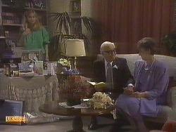 Jane Harris, John Worthington, Nell Mangel in Neighbours Episode 0842