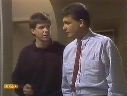 Joe Mangel, Des Clarke in Neighbours Episode 0842