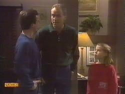 Paul Robinson, Jim Robinson, Katie Landers in Neighbours Episode 0842