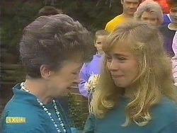 Nell Mangel, Katie Landers, Jane Harris, Helen Daniels in Neighbours Episode 0842