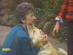 Nell Mangel, Bouncer in Neighbours Episode 0842