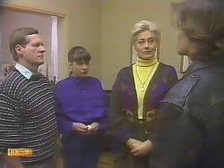 Mr. Ross, Jessie Ross, Adele Ross, Mike Young in Neighbours Episode 0843