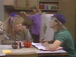 Sharon Davies, Bronwyn Davies, Nick Page in Neighbours Episode 0843