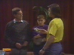 Mr. Ross, Jessie Ross, Mike Young in Neighbours Episode 0843