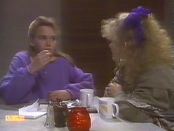 Bronwyn Davies, Sharon Davies in Neighbours Episode 0843