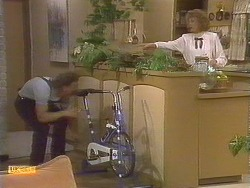 Henry Ramsay, Madge Bishop in Neighbours Episode 0843