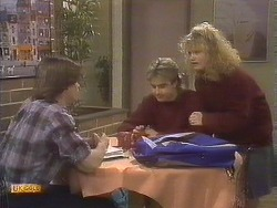 Mike Young, Nick Page, Sharon Davies in Neighbours Episode 0843