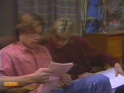 Mike Young, Nick Page in Neighbours Episode 0844
