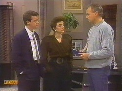 Paul Robinson, Gail Robinson, Jim Robinson in Neighbours Episode 0844