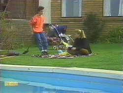 Todd Landers, Jamie Clarke, Bronwyn Davies in Neighbours Episode 0844
