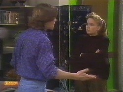 Mike Young, Bronwyn Davies in Neighbours Episode 0844