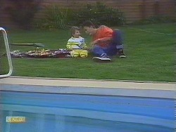 Jamie Clarke, Todd Landers in Neighbours Episode 0844