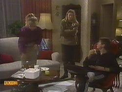 Jane Harris, Bronwyn Davies, Joe Mangel in Neighbours Episode 0845