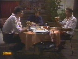 Des Clarke, Mike Young, Malcolm Clarke in Neighbours Episode 0845