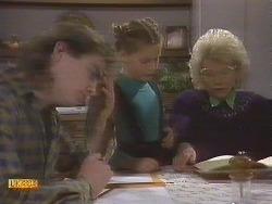 Nick Page, Katie Landers, Helen Daniels in Neighbours Episode 0845