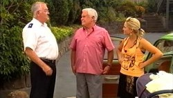 Harold Bishop, Lou Carpenter, Sky Mangel in Neighbours Episode 5201