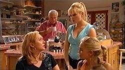 Janelle Timmins, Lou Carpenter, Janae Hoyland, Sky Mangel in Neighbours Episode 5201
