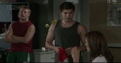 Oliver Barnes, Declan Napier, Rebecca Napier in Neighbours Episode 5444