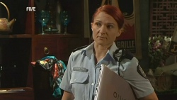 Constable Simone Page in Neighbours Episode 5931