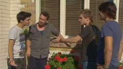 Zeke Kinski, Lucas Fitzgerald, Ringo Brown, Declan Napier in Neighbours Episode 5931