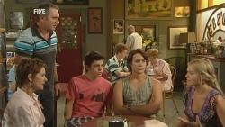 Susan Kennedy, Karl Kennedy, Zeke Kinski, Declan Napier, Donna Freedman in Neighbours Episode 5933