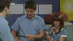 Adam Muller, Chris Pappas, Summer Hoyland in Neighbours Episode 5934