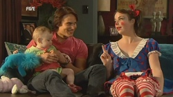 India Napier, Declan Napier, Kate Ramsay in Neighbours Episode 5935