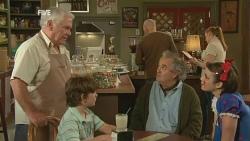 Lou Carpenter, Ben Kirk, Terry Kearney, Kate Ramsay in Neighbours Episode 5935