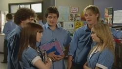 Harry Ramsay, Summer Hoyland, Chris Pappas, Andrew Robinson, Natasha Williams in Neighbours Episode 5936