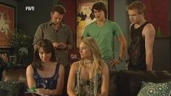 Kate Ramsay, Lucas Fitzgerald, Donna Freedman, Declan Napier, Ringo Brown in Neighbours Episode 5938
