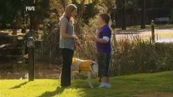 Sonya Mitchell, Rocky, Callum Jones in Neighbours Episode 5938