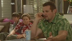 Ben Kirk, Callum Jones, Toadie Rebecchi in Neighbours Episode 5942