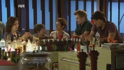Rebecca Napier, Ben Kirk, Susan Kennedy, Ringo Brown, Declan Napier in Neighbours Episode 5942
