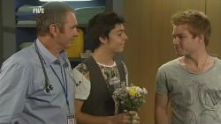 Karl Kennedy, Zeke Kinski, Ringo Brown in Neighbours Episode 5943