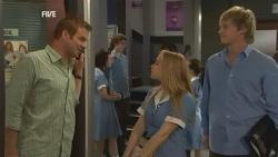 Michael Williams, Natasha Williams, Andrew Robinson in Neighbours Episode 5943