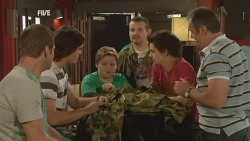 Michael Williams, Declan Napier, Callum Jones, Toadie Rebecchi, Zeke Kinski, Karl Kennedy in Neighbours Episode 5944