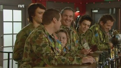 Declan Napier, Toadie Rebecchi, Callum Jones, Karl Kennedy, Zeke Kinski, Michael Williams in Neighbours Episode 5944
