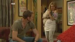 Michael Williams, Cat, Natasha Williams in Neighbours Episode 5946