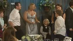 Toadie Rebecchi, Steph Scully, Charlie Hoyland, Callum Jones, Libby Kennedy in Neighbours Episode 5947