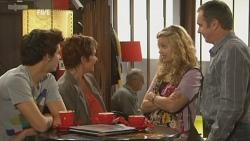 Zeke Kinski, Susan Kennedy, Gemma Pickford, Karl Kennedy in Neighbours Episode 5949