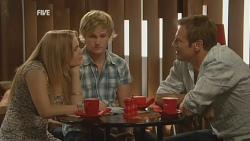 Natasha Williams, Andrew Robinson, Michael Williams in Neighbours Episode 5949