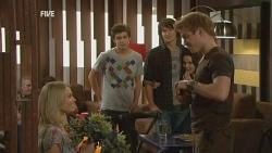 Donna Freedman, Zeke Kinski, Declan Napier, Ringo Brown in Neighbours Episode 5949